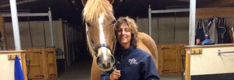 Dr Annette and the Horse Mattie